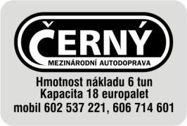 Černý autodoprava logo